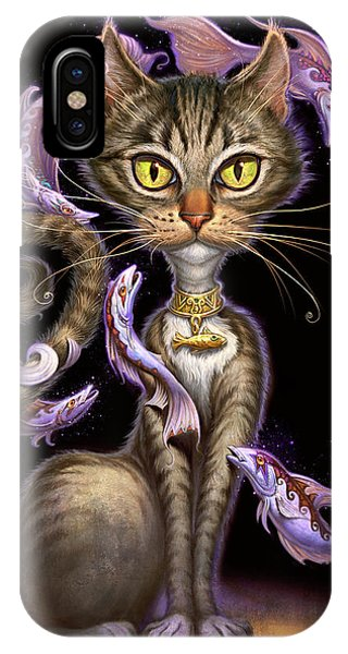Tabby iPhone Case - Feline Fantasy by Jeff Haynie