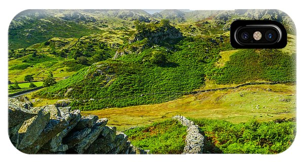 Fell Foot Little Langdale Lake District Phone Case by David Ross