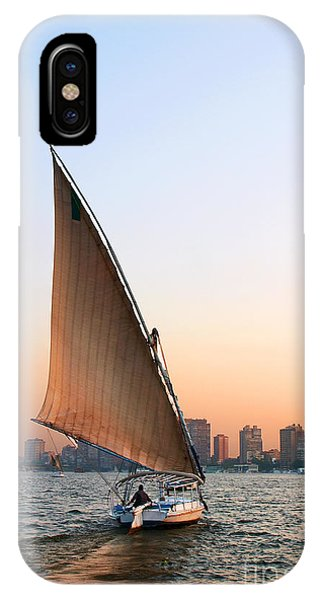 Felucca On The Nile IPhone Case