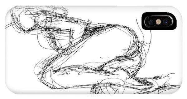 Female-erotic-sketches-8 IPhone Case