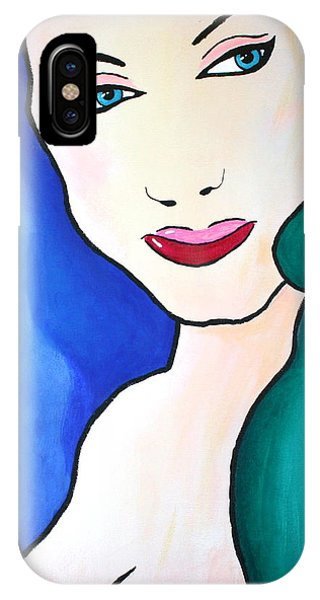 Female Face Shapes And Forms IPhone Case