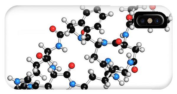 Female Sexual Dysfunction Drug Molecule Phone Case by Molekuul