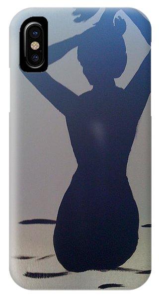 Female Silhouette IPhone Case