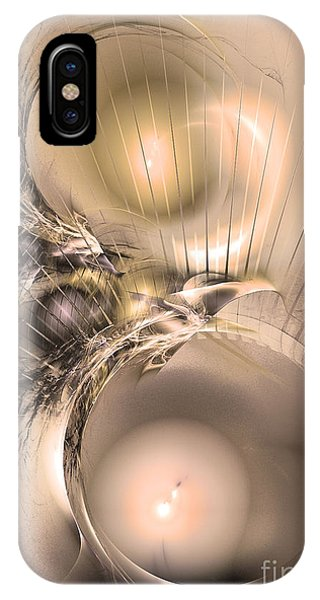 Femina Et Vir - Abstract Art IPhone Case