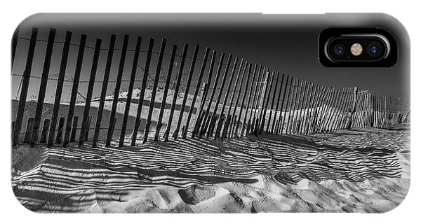 Fence On Beach IPhone Case