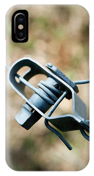 Fence Wire Tightener Phone Case by Gustoimages/science Photo Library