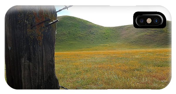 Fencepost On The 58 IPhone Case