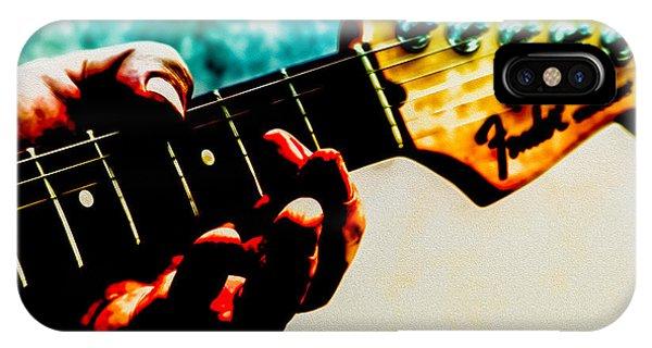 Eric Clapton iPhone Case - Fender Strat by Bob Orsillo