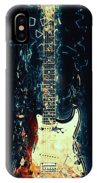 Electric Guitar iPhone Case - Fender Strat by Zapista Zapista