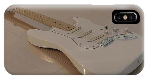 Fender Stratocaster In White IPhone Case