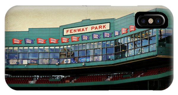 Boston Red Sox iPhone Case - Fenway Memories - 2 by Stephen Stookey