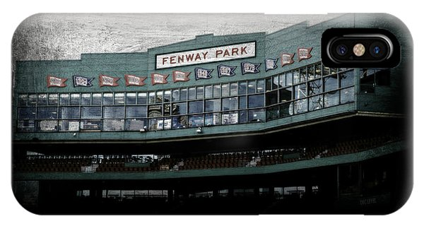 Boston Red Sox iPhone Case - Fenway Memories - Clover Edition by Stephen Stookey