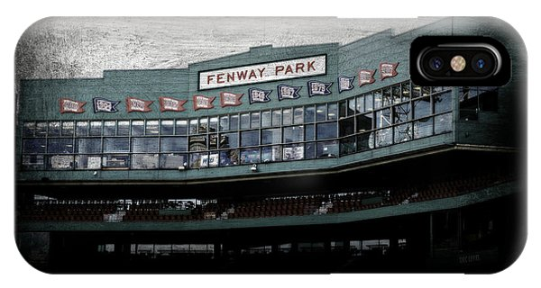 Boston Red Sox iPhone Case - Fenway Memories - Poster 1 by Stephen Stookey