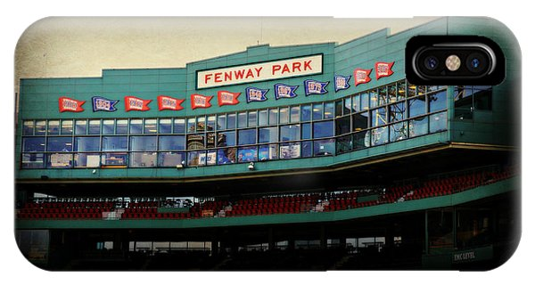 Boston Red Sox iPhone Case - Fenway Memories - Poster 2 by Stephen Stookey