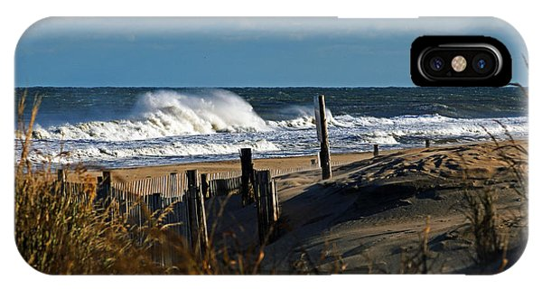 Fenwick Dunes And Waves IPhone Case