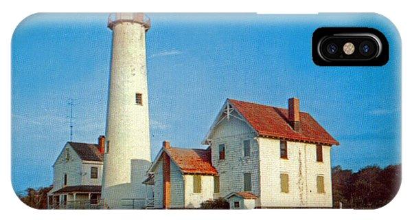 Fenwick Island Lighthouse 1950 IPhone Case