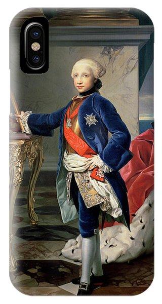 Sea Floor iPhone Case - Ferdinand Iv, King Of Naples by Anton Raphael Mengs