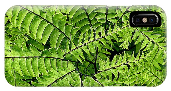 Fern Abstract IPhone Case