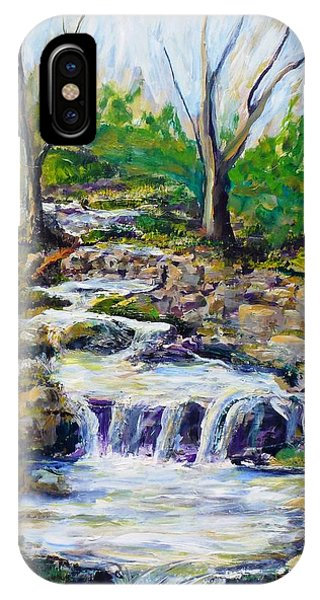 Ferndell Creek Noon  Phone Case by Randy Sprout