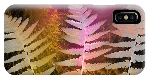 Leave iPhone Case - Ferns by Louise Grant