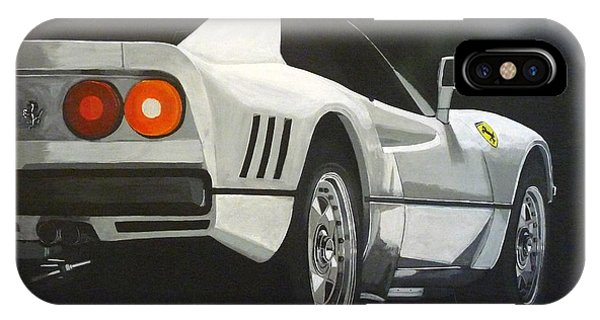 Ferrari 288 Gto IPhone Case