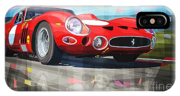 Automotive iPhone Case - Ferrari 330 Gto 1962 by Yuriy Shevchuk