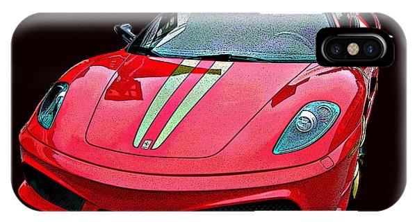Ferrari 430 Scuderia IPhone Case