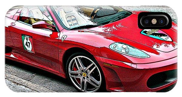 Ferrari 430 Spider IPhone Case