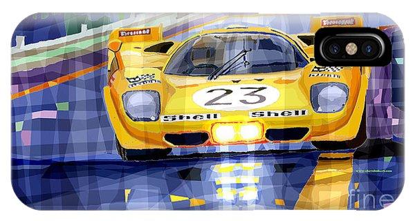 Spa iPhone Case - Ferrari 512 S Spa 1970 Derek Bell  by Yuriy Shevchuk