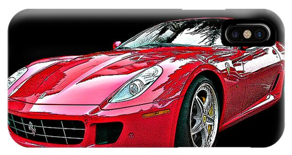 Ferrari 599 Gtb Fiorano IPhone Case