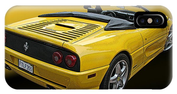 Ferrari F355 Spider IPhone Case