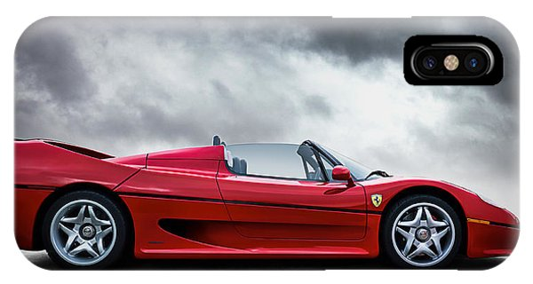 Mancave iPhone Case - Ferrari F50 by Douglas Pittman