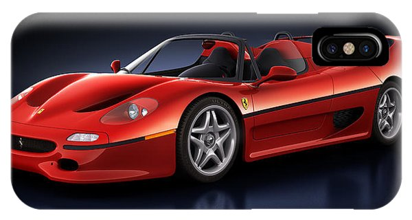 Ferrari F50 - Phantasm IPhone Case