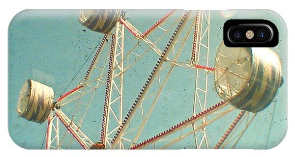 Funfair iPhone Case - Ferris Wheel by Cassia Beck
