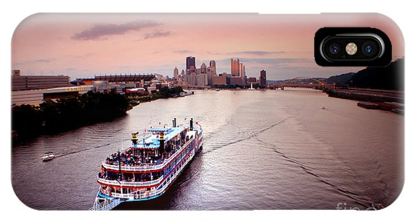 Ferry Boat At The Point In Pittsburgh Pa IPhone Case
