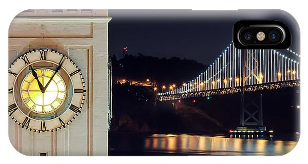 Ferry Building And Bay Bridge IPhone Case
