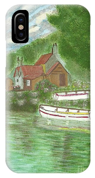 Ferryman's Cottage IPhone Case
