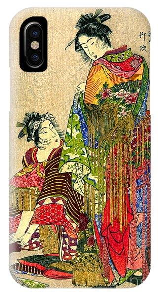 Festival Costumes 1785 IPhone Case