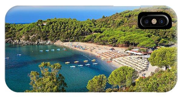 Fetovaia Beach - Elba Island IPhone Case