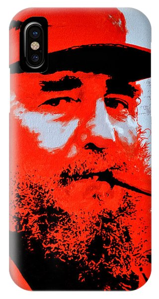 Fidel Castro IPhone Case