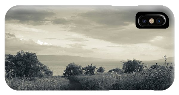 Field By The Sea Of Galilee, Tiberias IPhone Case