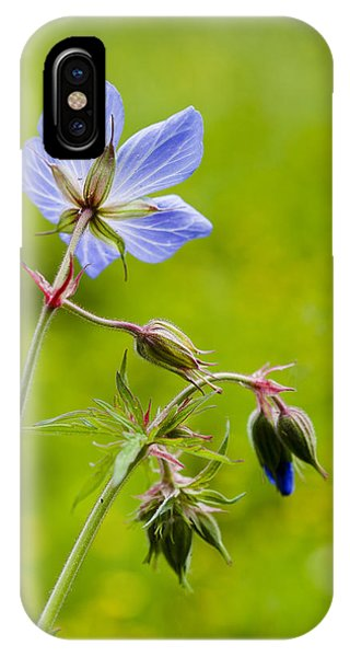 Field Geranium IPhone Case