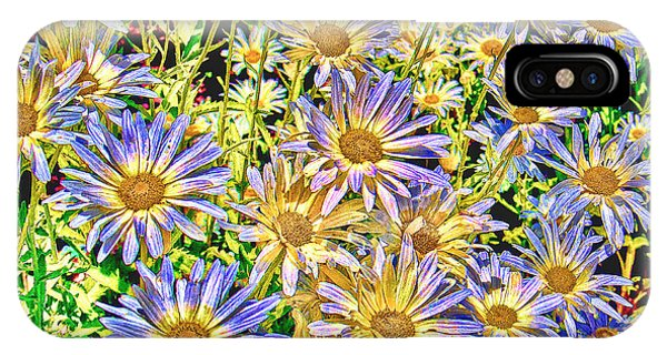 Field Of Colorful Flowers IPhone Case