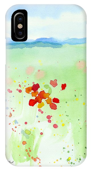 Field Of Flowers 2 IPhone Case