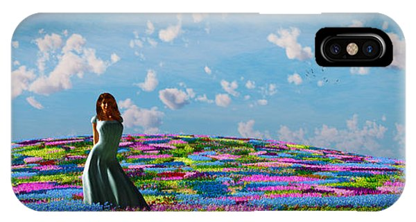 Field Of Flowers... IPhone Case