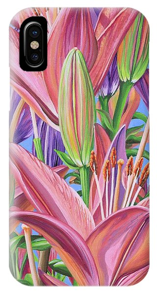 Field Of Lilies IPhone Case