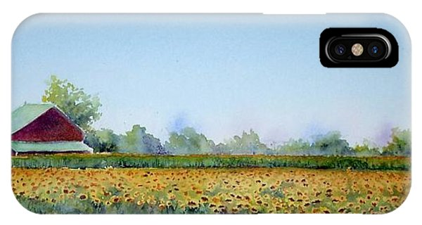 Field Of Sunshine IPhone Case
