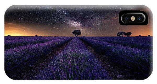 Lavender iPhone Case - Fields Of Castilla by Jorge Ruiz Dueso