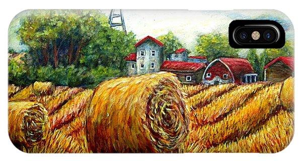Fields Of Hay Phone Case by Sebastian Pierre