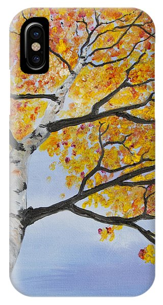 Fiery Aspen IPhone Case